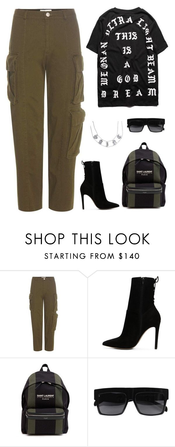 """."" by owl00 ❤ liked on Polyvore featuring Public School, ALDO, Yves Saint Laurent and CÉLINE"