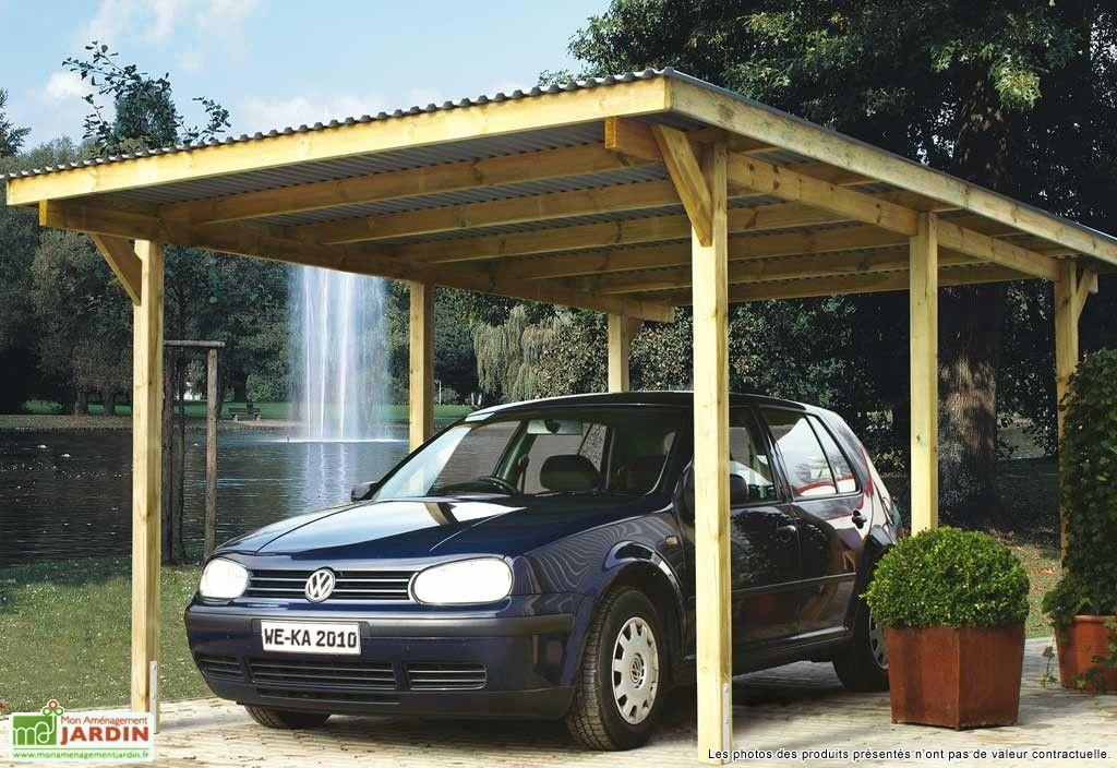Carport Toit Plat Primus T2 3x6 House Pinterest Garage