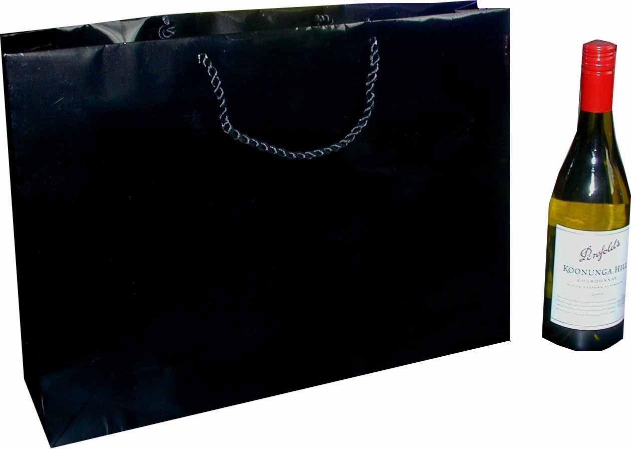 Horizontal Jumbo Gift Bag A3 Black Gift Bags Black Gift Bags Fun Wedding Invitations Gifts