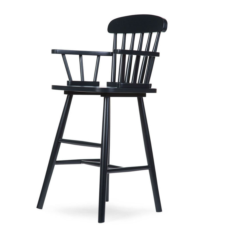 Childhome, Krzesełko dziecięce, wysokie, Atlas Black