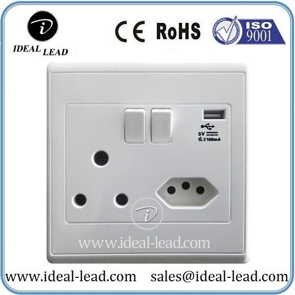 South Africa Switzerland Usb Wall Outlet Wall Outlets Plug Socket South Africa