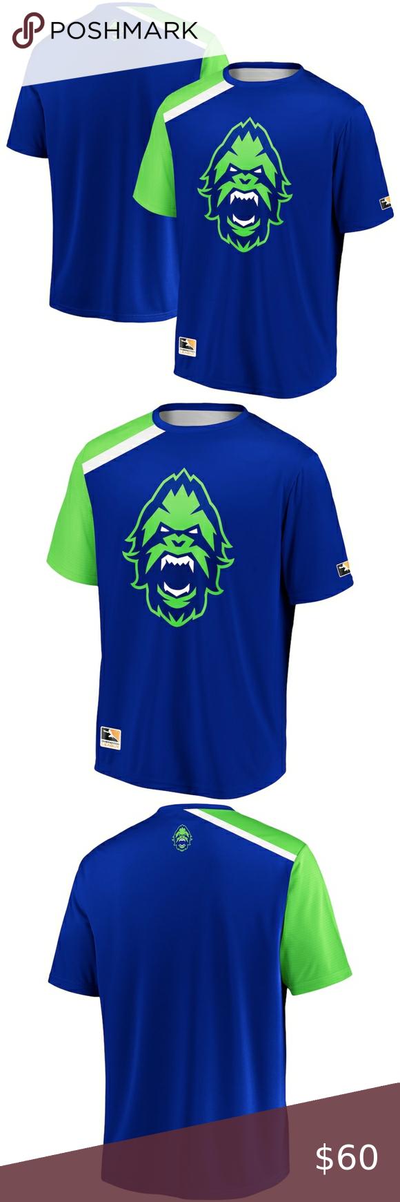 Vancouver Titans Men/'s Overwatch League Blizzard Logo T-Shirt New