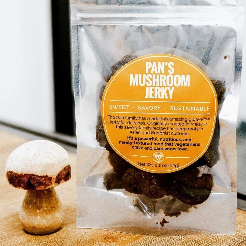 This Awesome Company Makes Vegan Jerky Out of Mushrooms