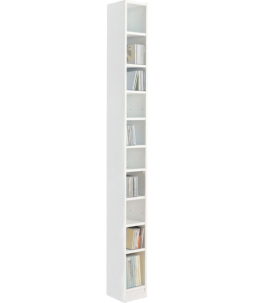 Buy Maine Tall DVD And CD Media Storage Tower   White At Argos.co.