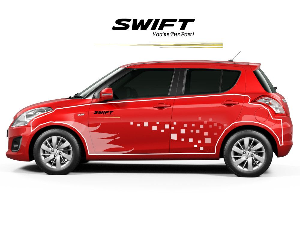 Maruti Suzuki Swift Design Body Graphics Suzuki Swift Suzuki Swift [ 800 x 1000 Pixel ]