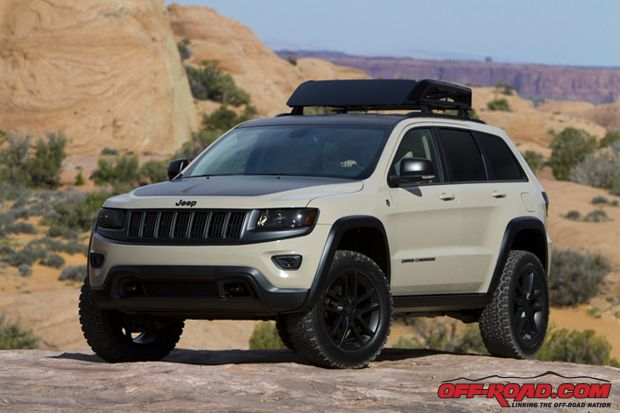 Jeep Grand Cherokee Trailhawk Off Road Tires
