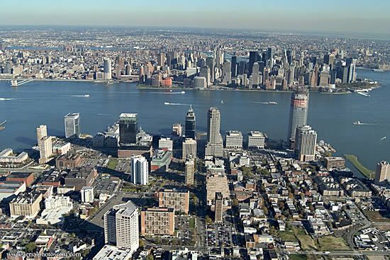 Downtown Jersey City Jersey City Places To Travel Aerial View