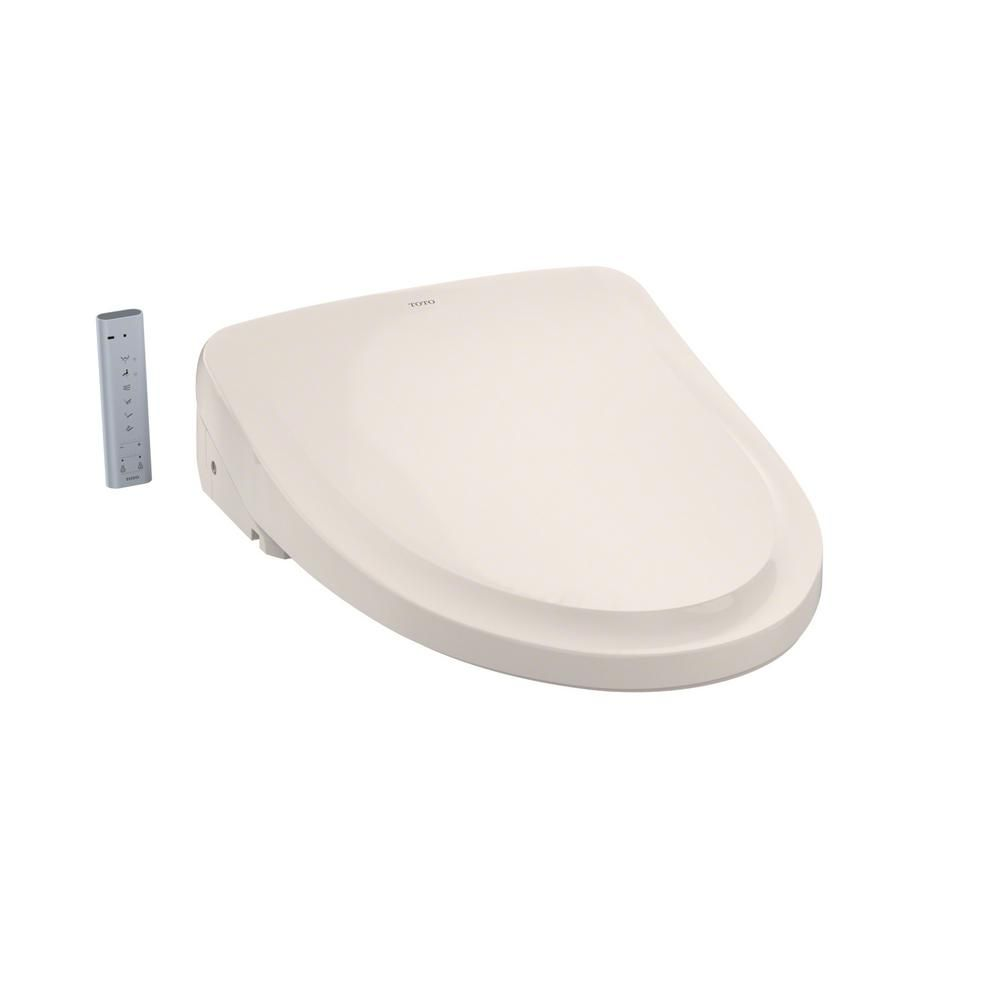 Toto S500e Washlet Electric Bidet Seat For Elongated Toilet With