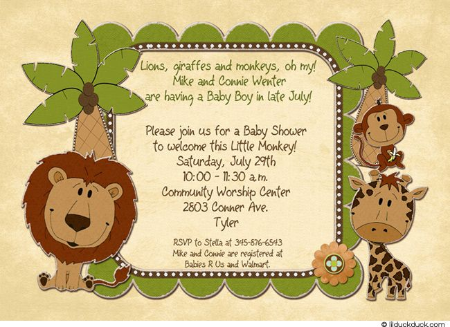 Baby Shower Boy Sayings Favors