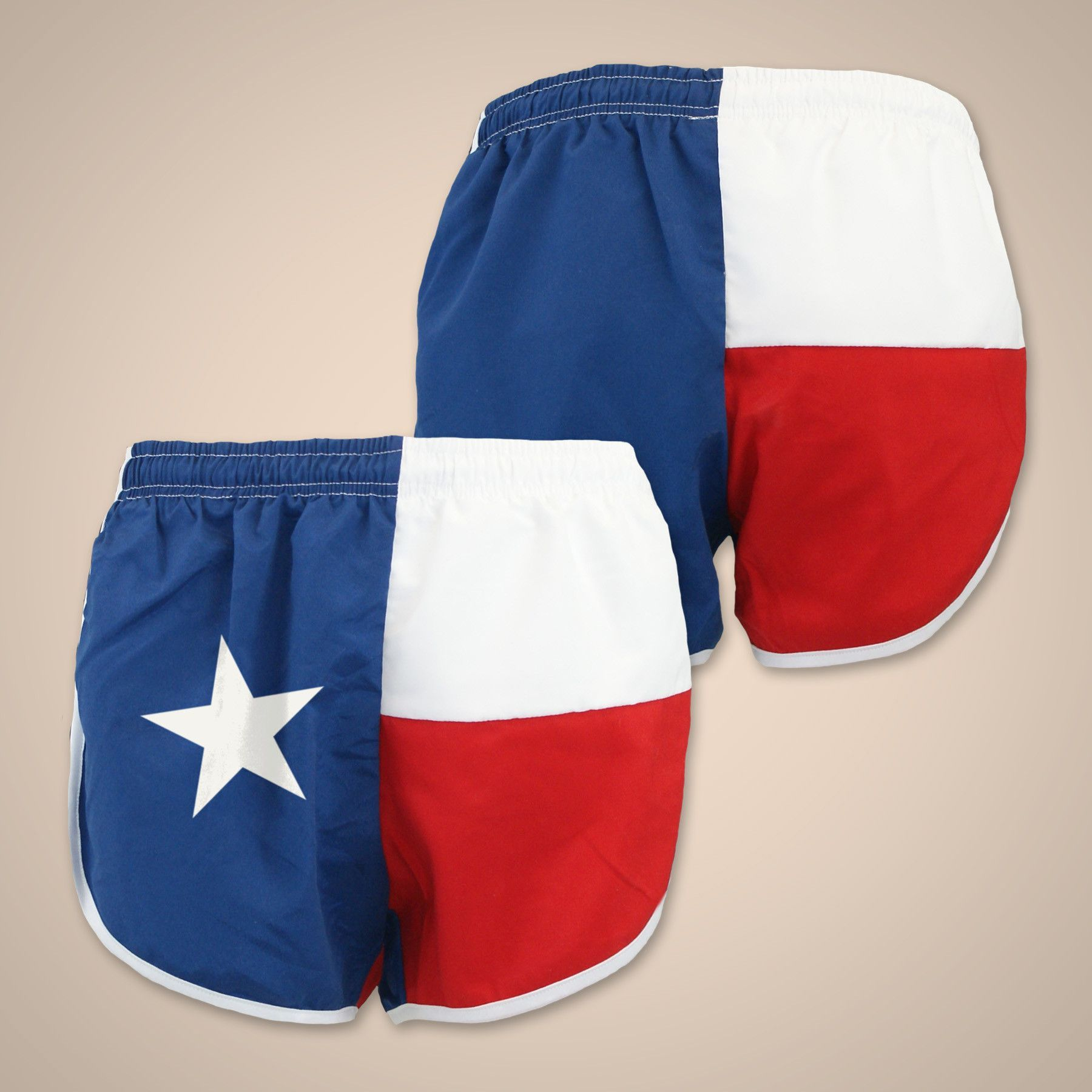 Flag Short Texas Texas Shorts Texas Fashion Running Clothes