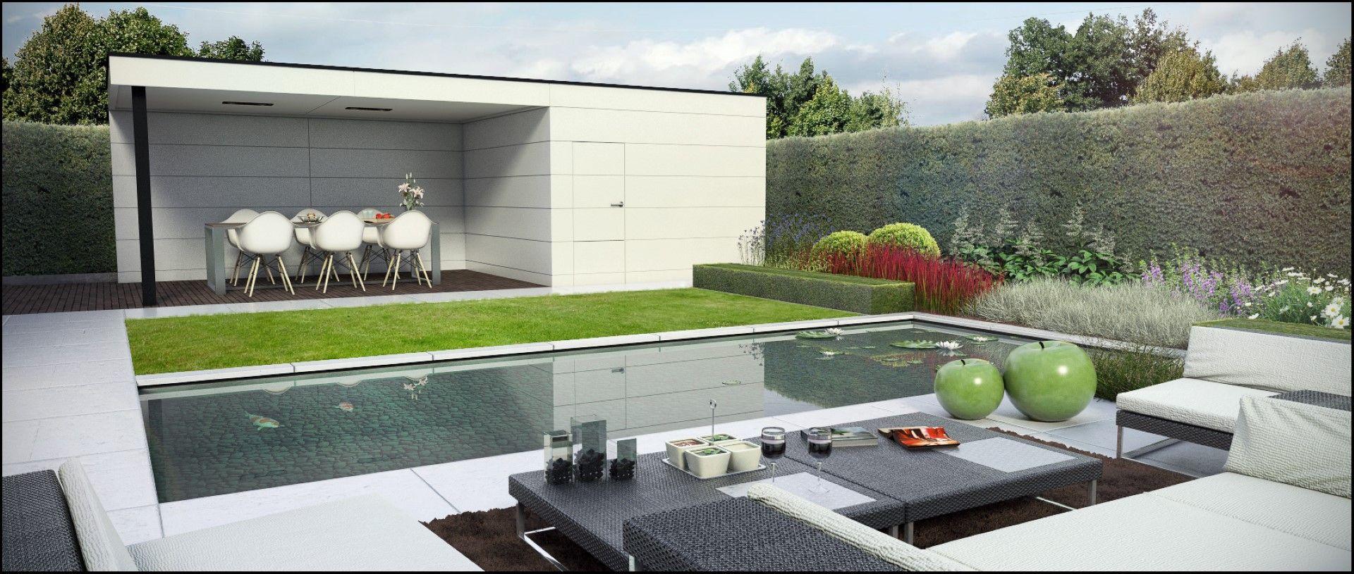 Eco tuinarchitectengroep 3d projecten moderne tuin for Tuinarchitect modern strak