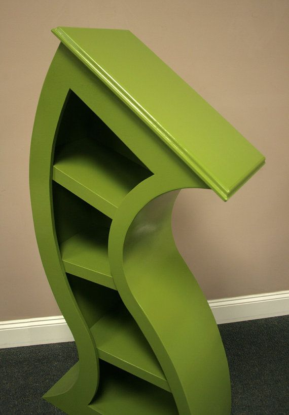 4ft Curved Shelf Green This month only 100 dollars by WoodCurve, $375.00
