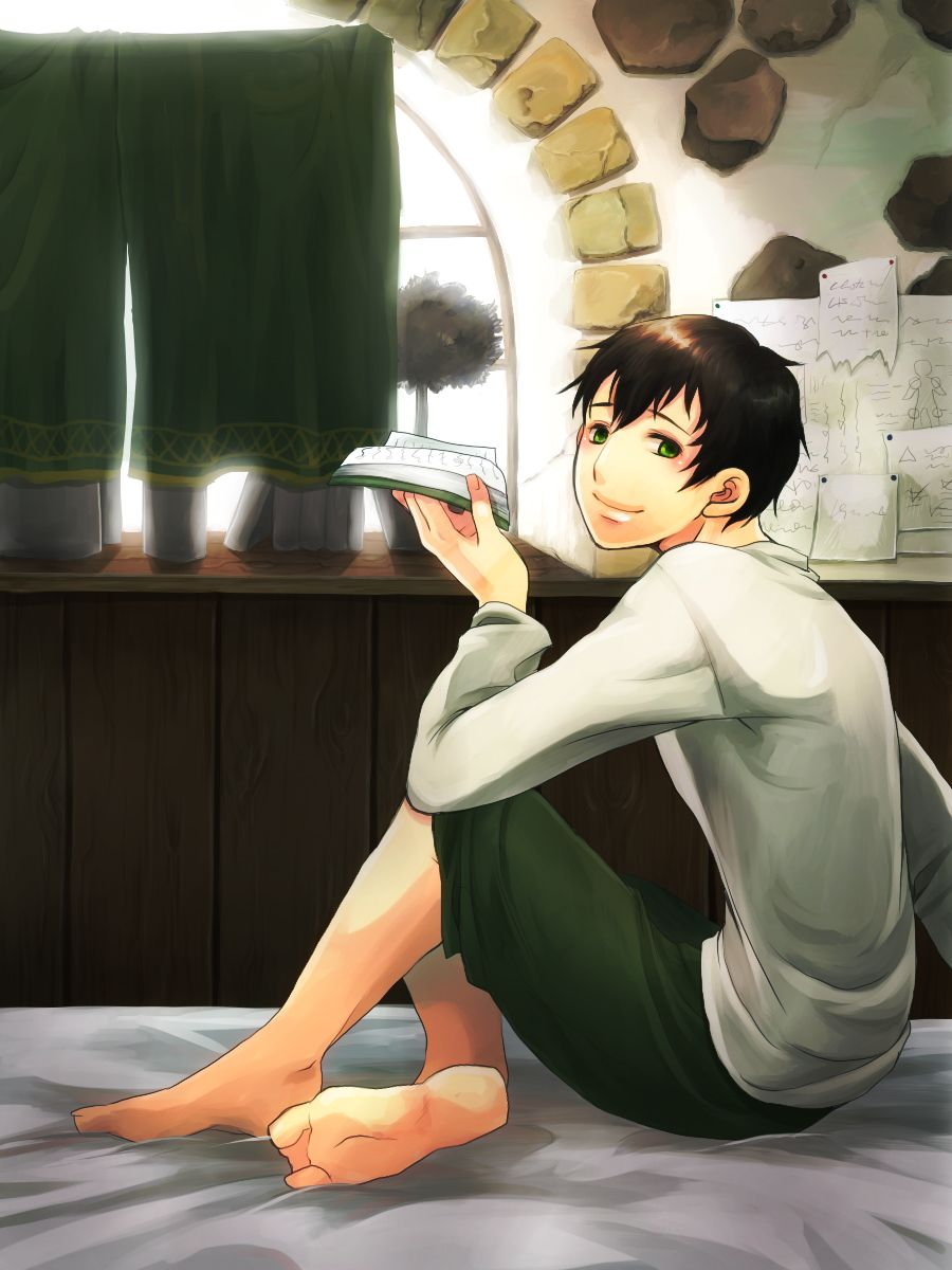 Bertolt was a cute kid.
