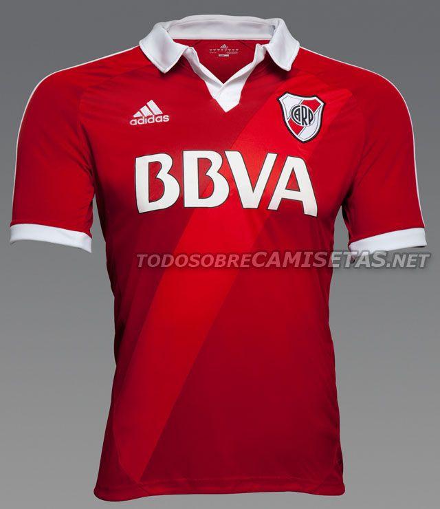 Todo Sobre Camisetas  OFICIAL  Nuevas Camisetas Adidas de River Plate 2012 25c79390779f3