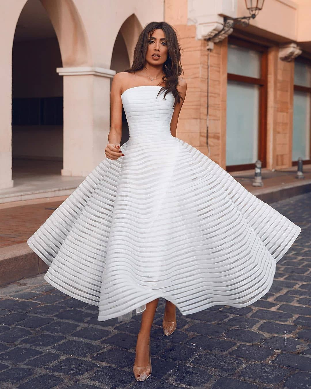 2 289 Likes 47 Comments Housher Hamburg Stylish On Instagram Dress Yes Or No Tagsta Fashion Fashionist In 2020 Short Bridal Gown Dresses Hot Dress [ 1350 x 1080 Pixel ]