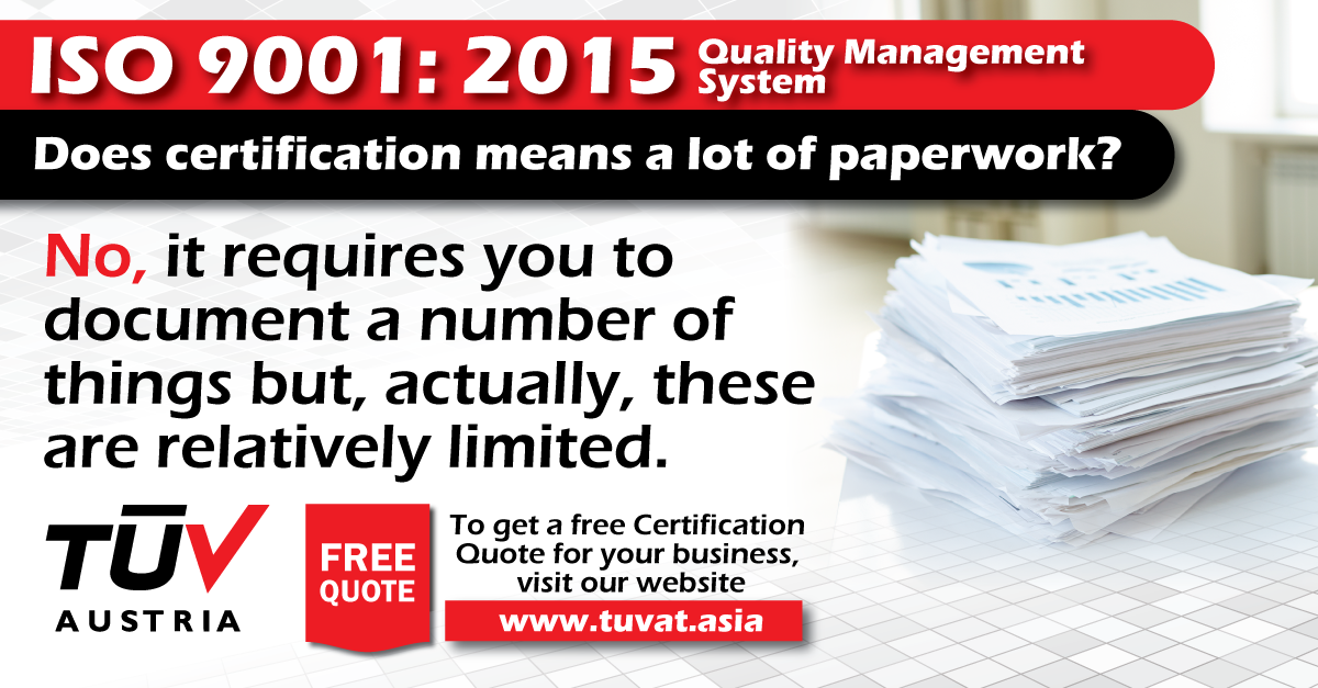 how to get iso9001 certification