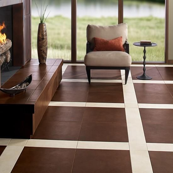 15 inspiring floor tile ideas for your living room home for Room floor design