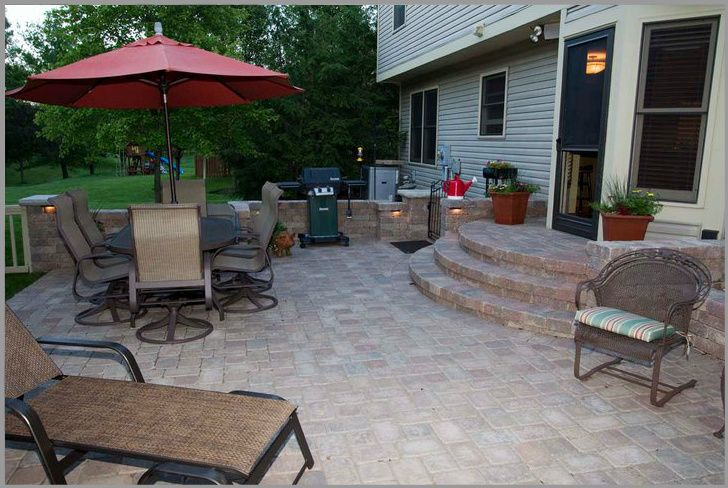 brick paver patio ideas brick paving did an awesome job with our - Paver Patio Design Ideas