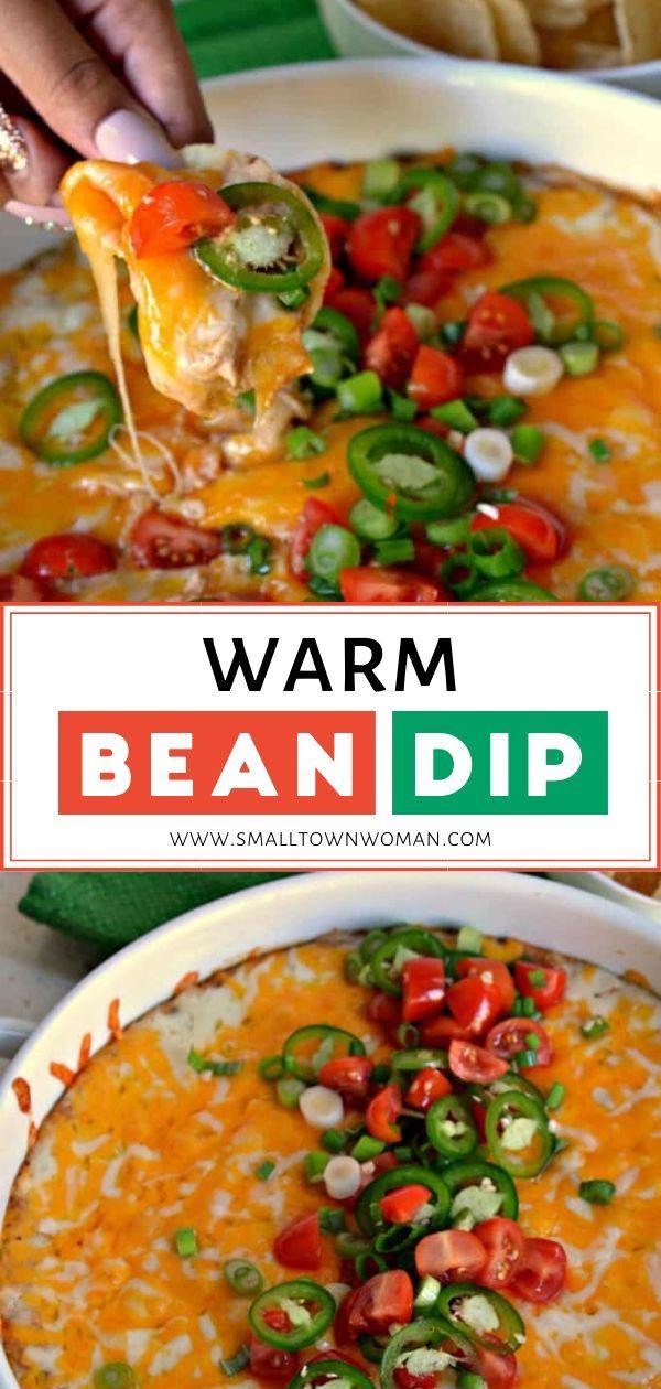Hot Bean Dip Recipe - Allrecipes.com |Warm Bean Dip Recipe