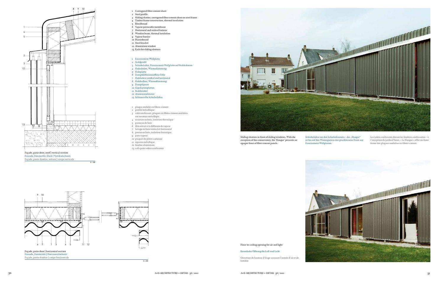 Architecture & Detail Magazine Issue 36 Architecture
