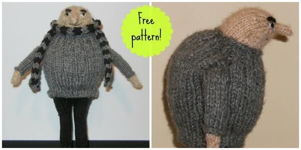 Despicable Me Fans Find The Free Knitting Pattern For Gru Here