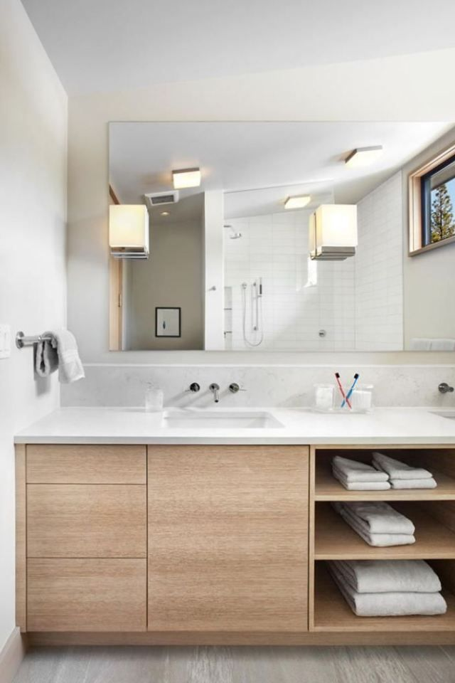 10 Bathroom Vanity Shelving Ideas Best 25 Bathroom Vanity Storage Ideas On Pinterest Bathroom Minimalist Bathroom Bathroom Design Small Bathroom Remodel