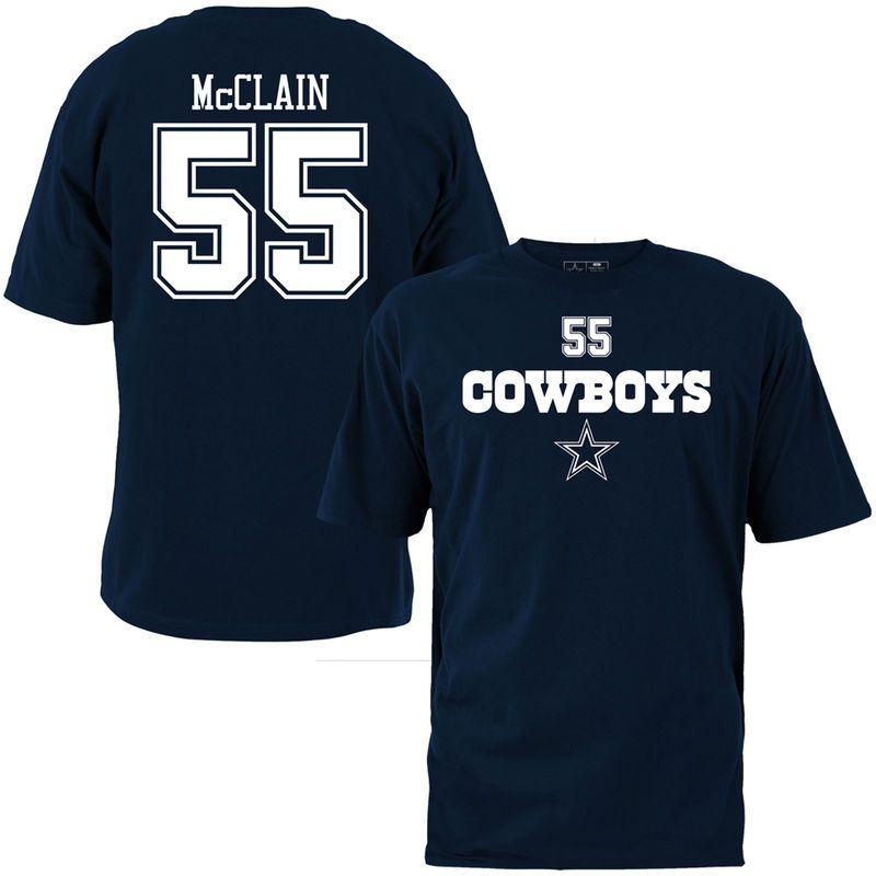 buy online 0862d 0658b Rolando McClain Dallas Cowboys Name & Number T-Shirt - Navy ...