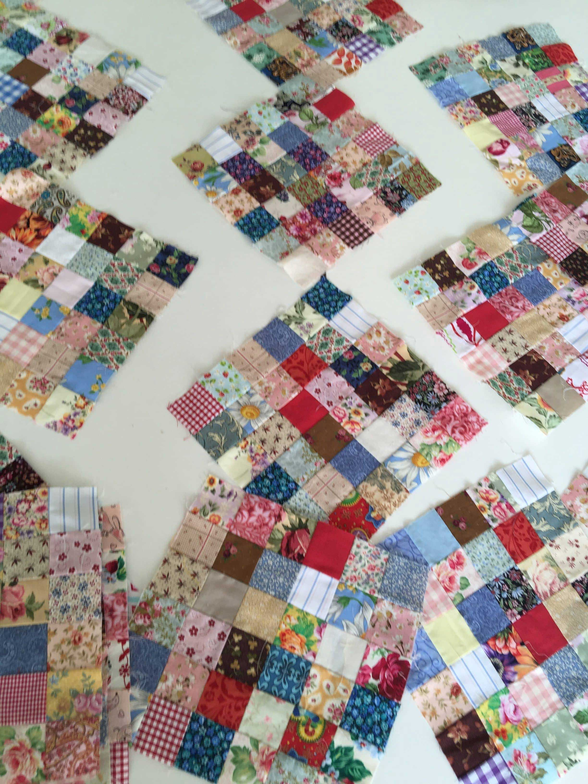 Postage Stamps Scrappy Quilts Ideas