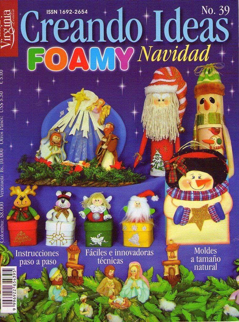 Manualidades en foamy para navidad souvenirs yesikita for Manualidades souvenirs navidenos