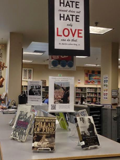 Library Displays Martin Luther King Jr Day Reading Ideas