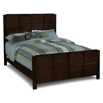 American Signature Furniture - Mosaic Bedroom Queen Bed $24999