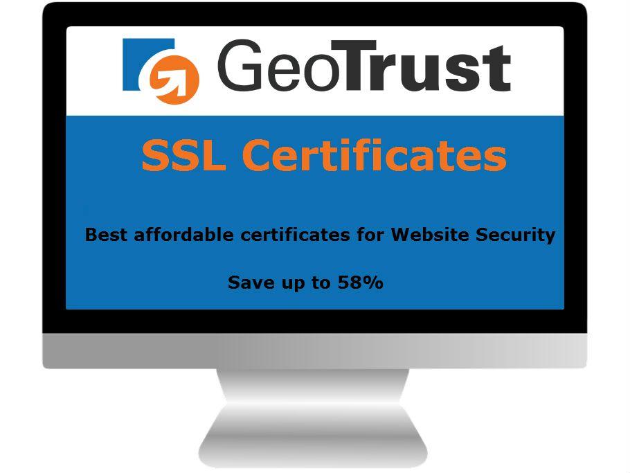 Geotrust Ssl Certificates Affordable Solution For Website Security