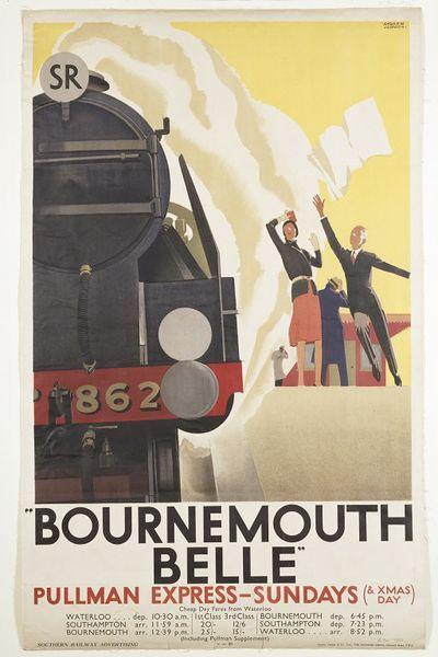 Bournemouth Belle : Pullman Express - Sundays (1931)