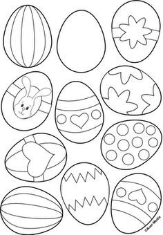 Easter Egg Printable Coloring PagesEgg