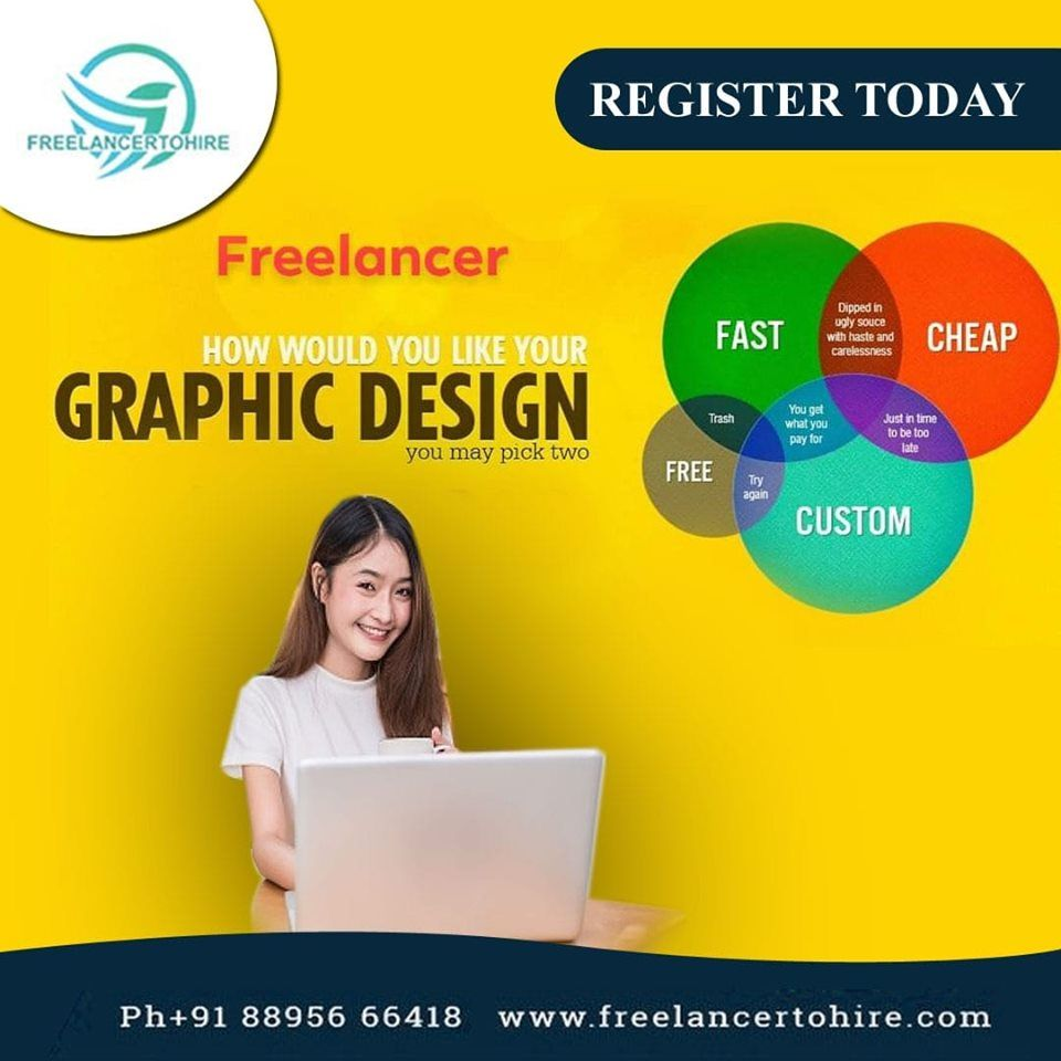 Hire A Freelancer How Would You Like Your Graphic Design Freelancing Jobs Online Jobs Online Data Entry Jobs