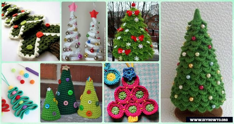Crochet Christmas Tree Free Patterns For Holiday