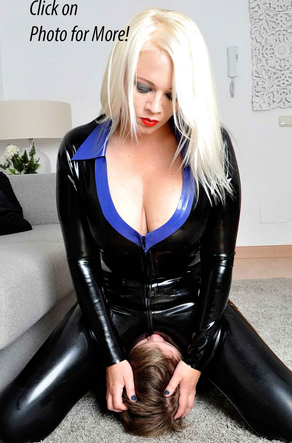 Pale lesbian slave made to worship ass - 4 1