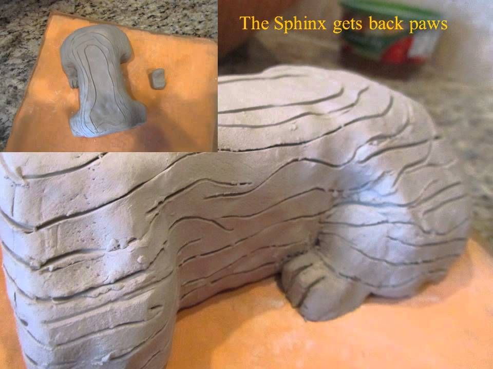 Sphinx Sculpture