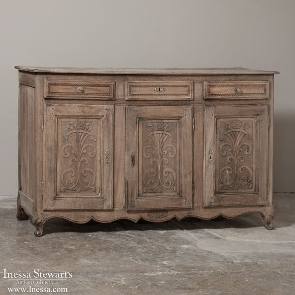 Antique Furniture | Antique Buffets-Sideboards | Country French Buffets |  19th Century Country French - Antique Furniture Antique Buffets-Sideboards Country French