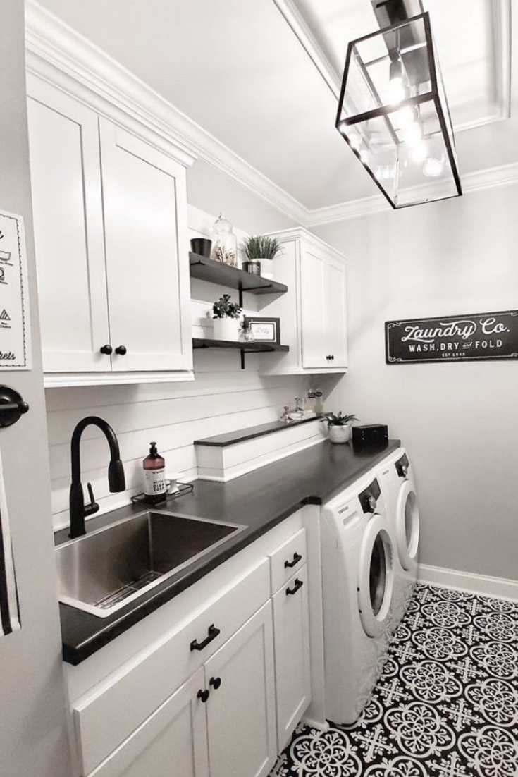 Pin By Breana Lovel On Home Upgrades In 2020 Laundry Room