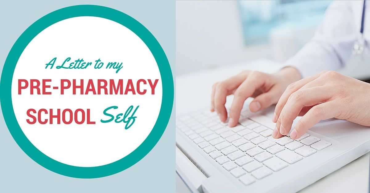 What advice would you offer the younger you? I share a Letter to My - pharmacy letter