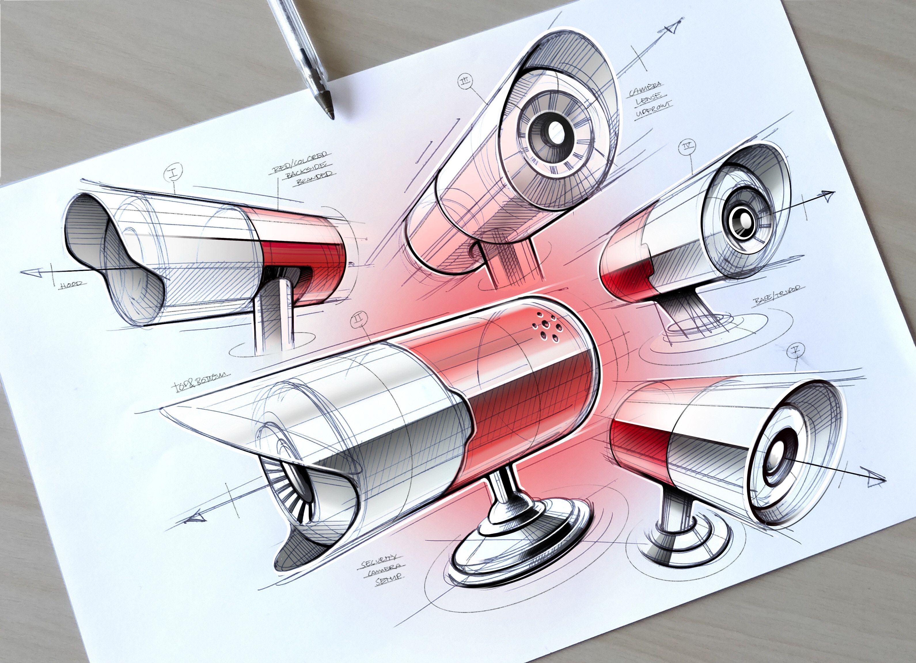 快來看看這個 Behance 專案 Design Sketches Illustrations 2019