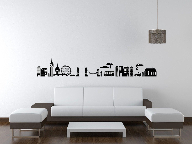 New York Wall Decal Art Travel Wander Landmark Dorm Decor Paris