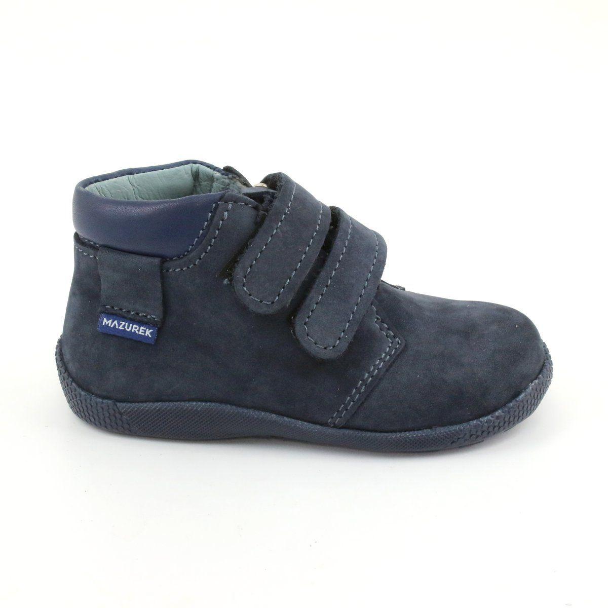 Boys Shoes With Velcro Mazurek 341 Navy Blue Navy Blue Shoes Boys Shoes Childrens Shoes