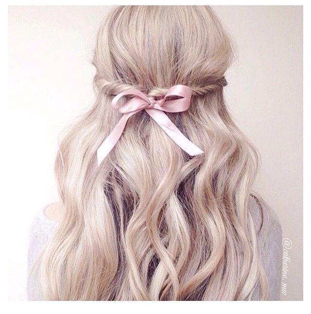 Princess Hairstyles ♡ Chin Up Princess♡ Pinterest  ღ Kayla ღ  ♡ My Life Isn't