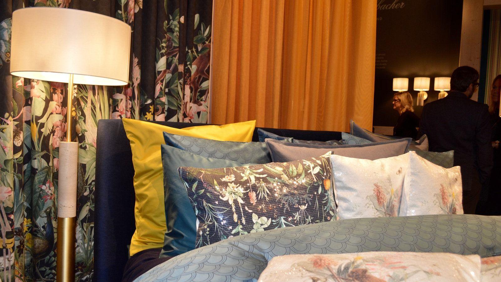Fotos Zehn Trends Von Der Mobelmesse Haus Wohnen Bunte Kissen