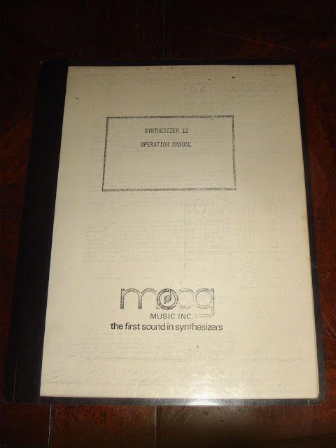 MATRIXSYNTH: Ultra Rare 1973 MOOG MODULAR SYNTHESIZER MODEL 12 ...
