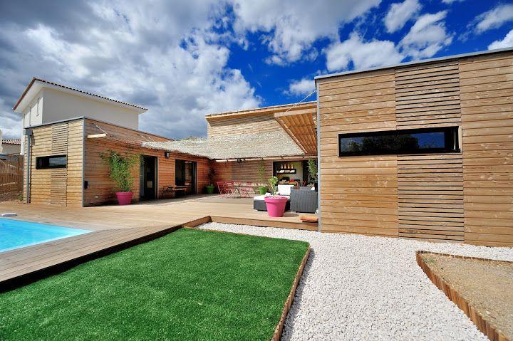 Maison Container Bois F4 En U Plans Pinterest House