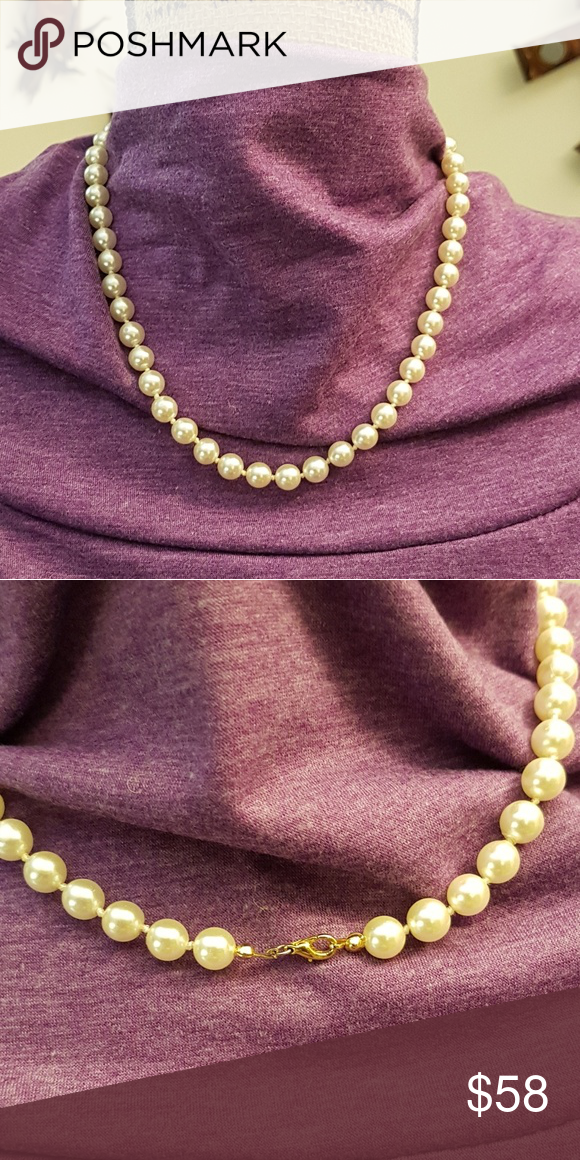 f33fb9e37d026 Vintage faux pearls 18