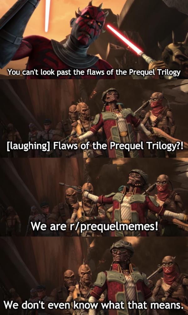 Hondo Is Underrated Af R Prequelmemes Prequel Memes Star Wars Jokes Funny Star Wars Memes Star Wars Quotes